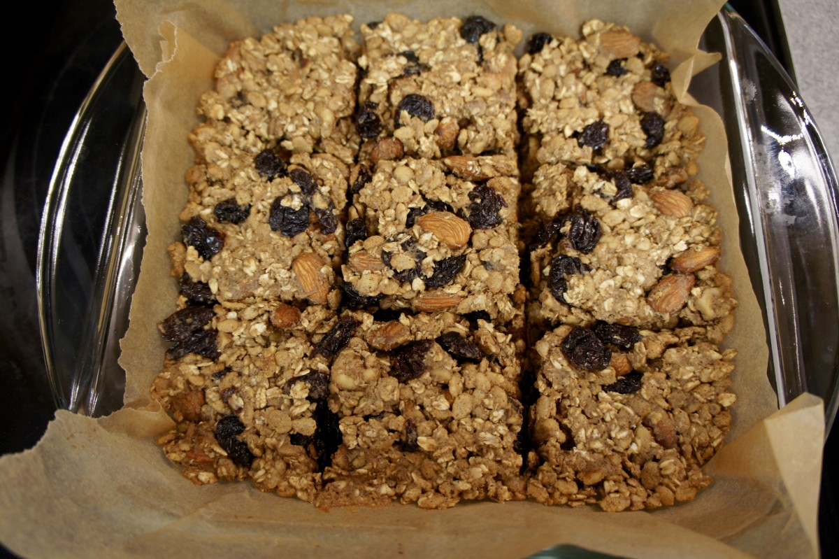 Cherry Nut Protein Bars featured image