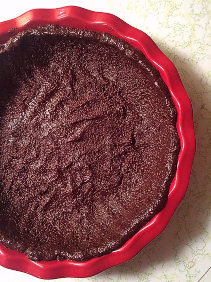 Almond flour chocolate pie crust