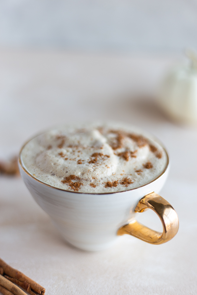 almond milk pumpkin spice latte