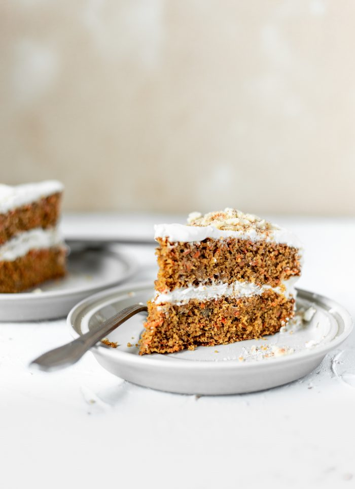 Soft Wheat Carrot Cake